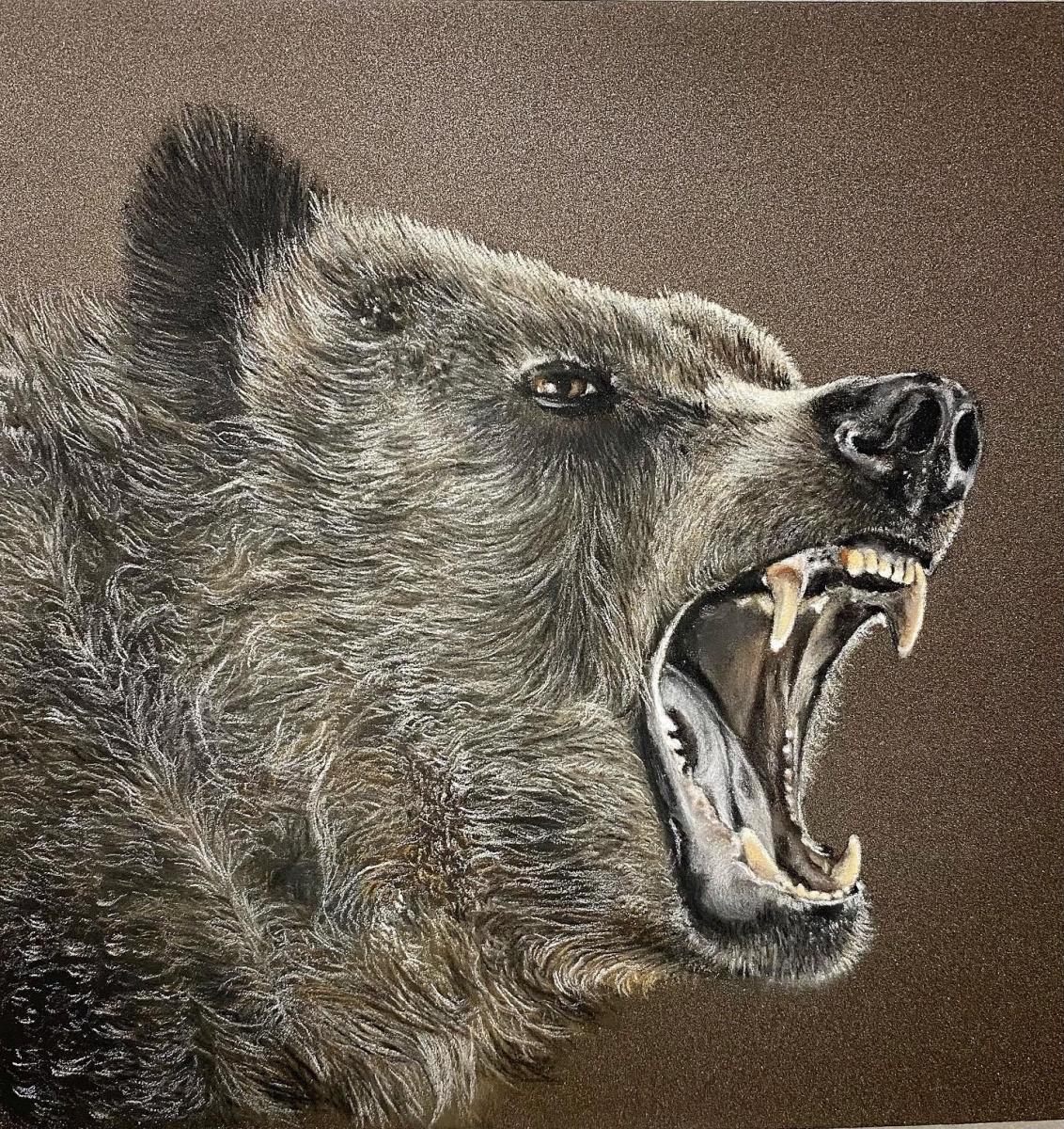 Maria Maria Polyakova. Bear
