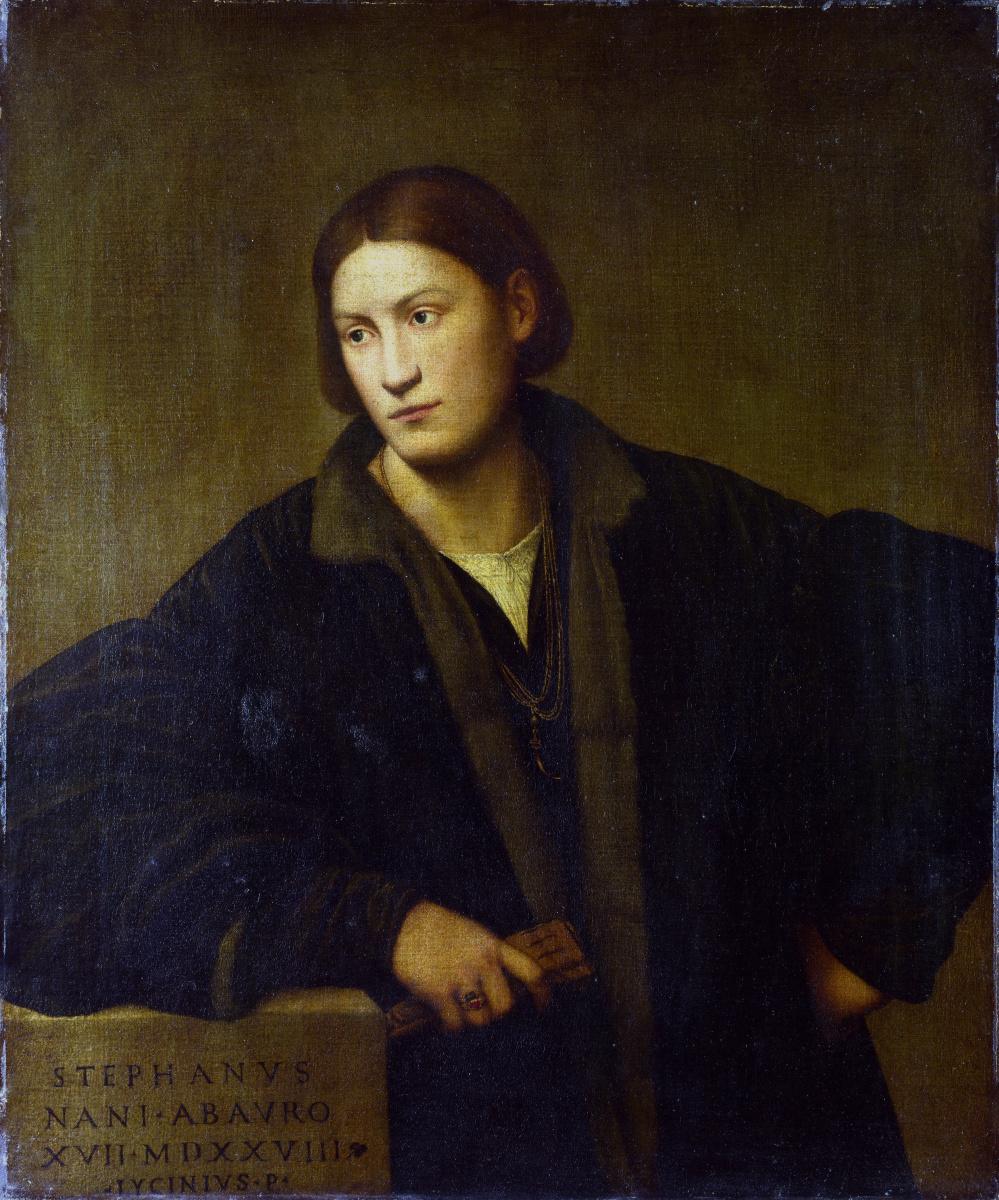 Ликинио Бернардино. Портрет Стефано Нани