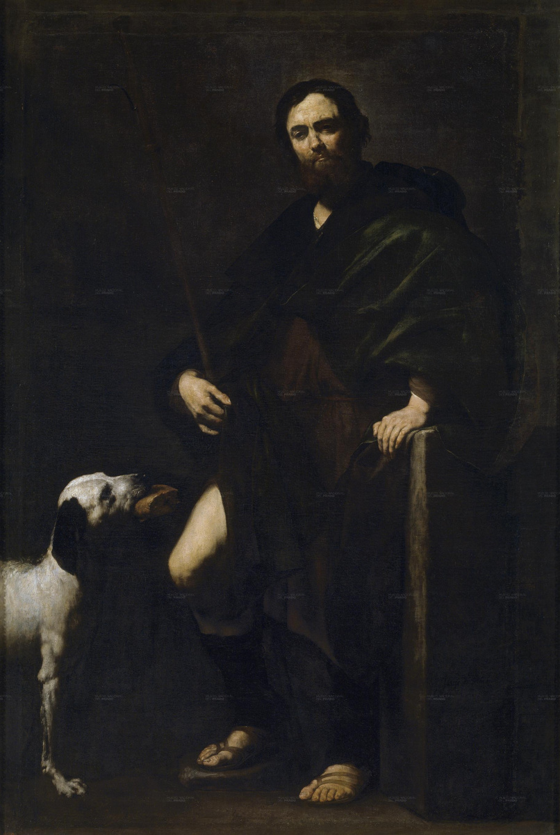 Хосе де Рибера. Св. Рох
