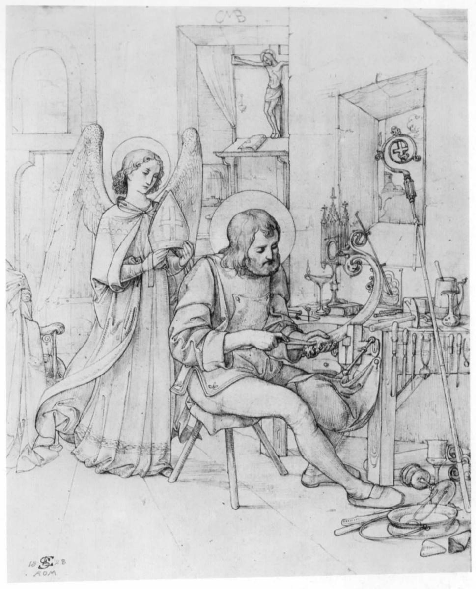 Эдвард Якоб фон Штайнле. Святой Элигий