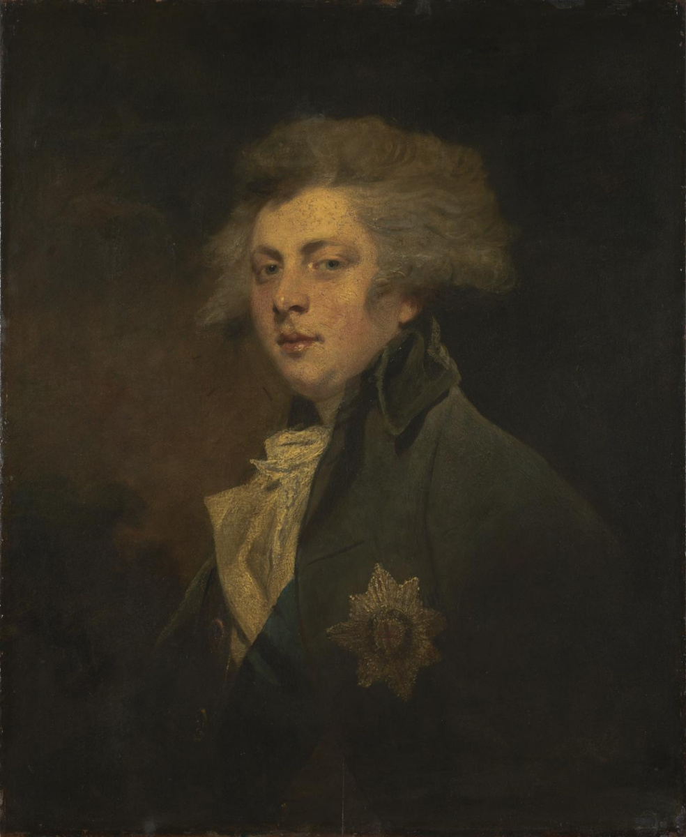 Joshua Reynolds. George IV when Prince of Wales