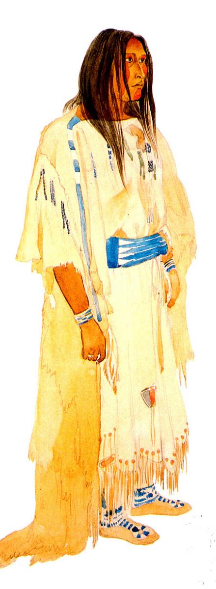 Карл Бодмер. Молодая женщина