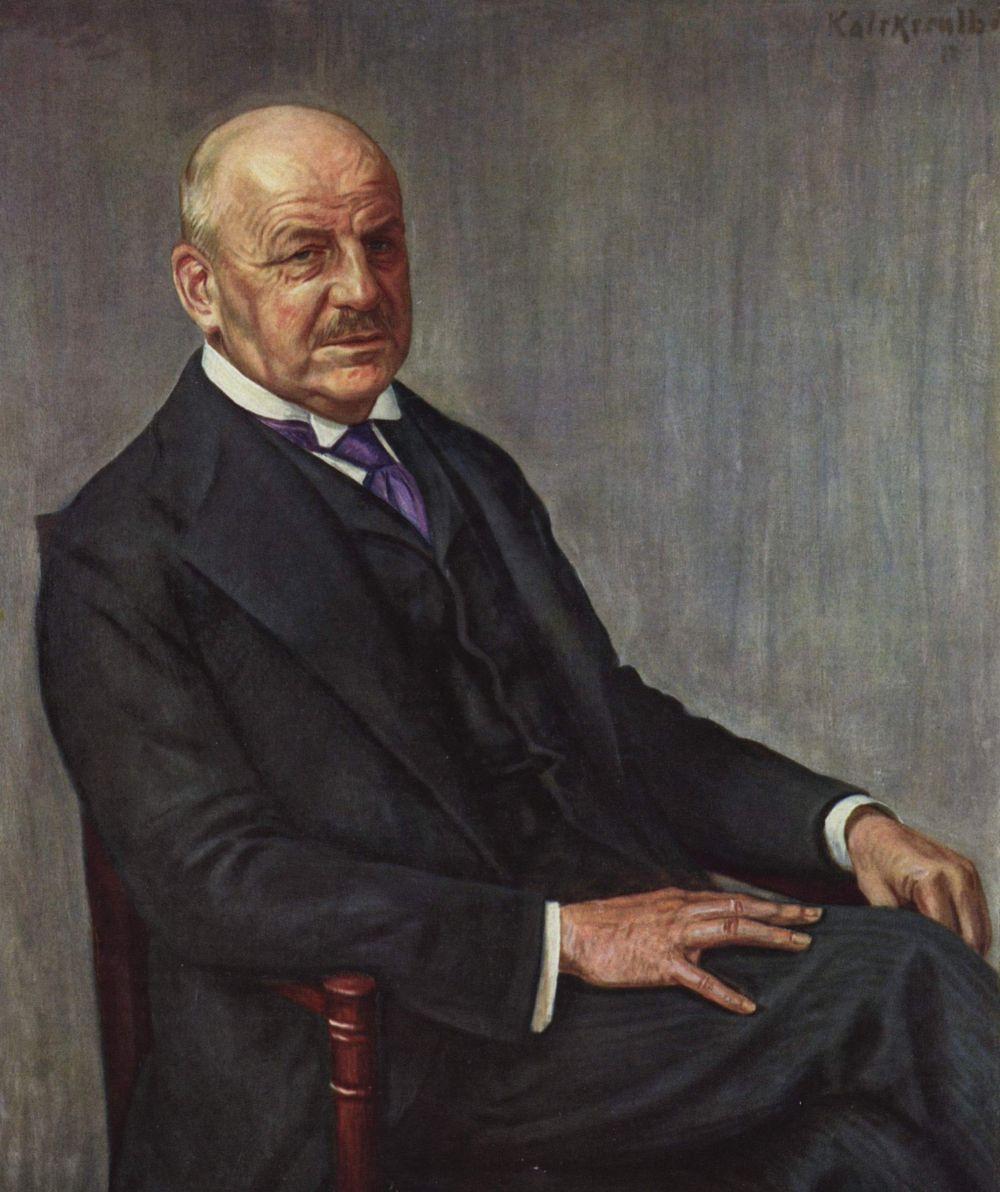 Леопольд Карл Вальтер фон Калкрёйт. Альфред Лихтварк