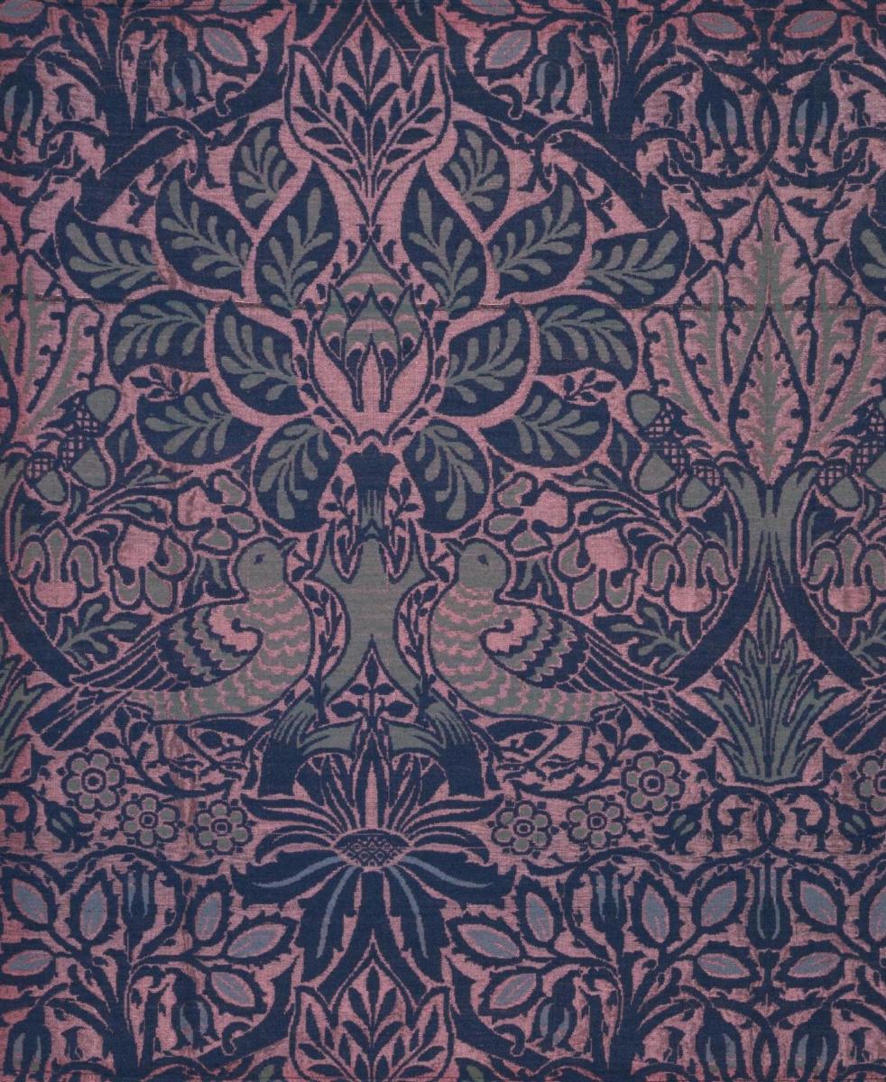 Уильям Моррис. Голуби в цветах
