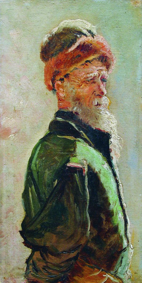 Константин Егорович Маковский. Старик