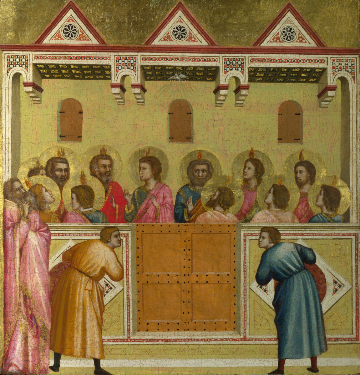 Giotto di Bondone. Trinity