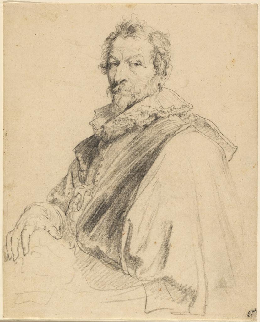 Anthony van Dyck. Portrait of Hendrik van Balena