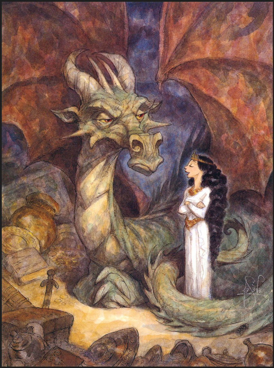 Питер де Сев. Зеленый дракон