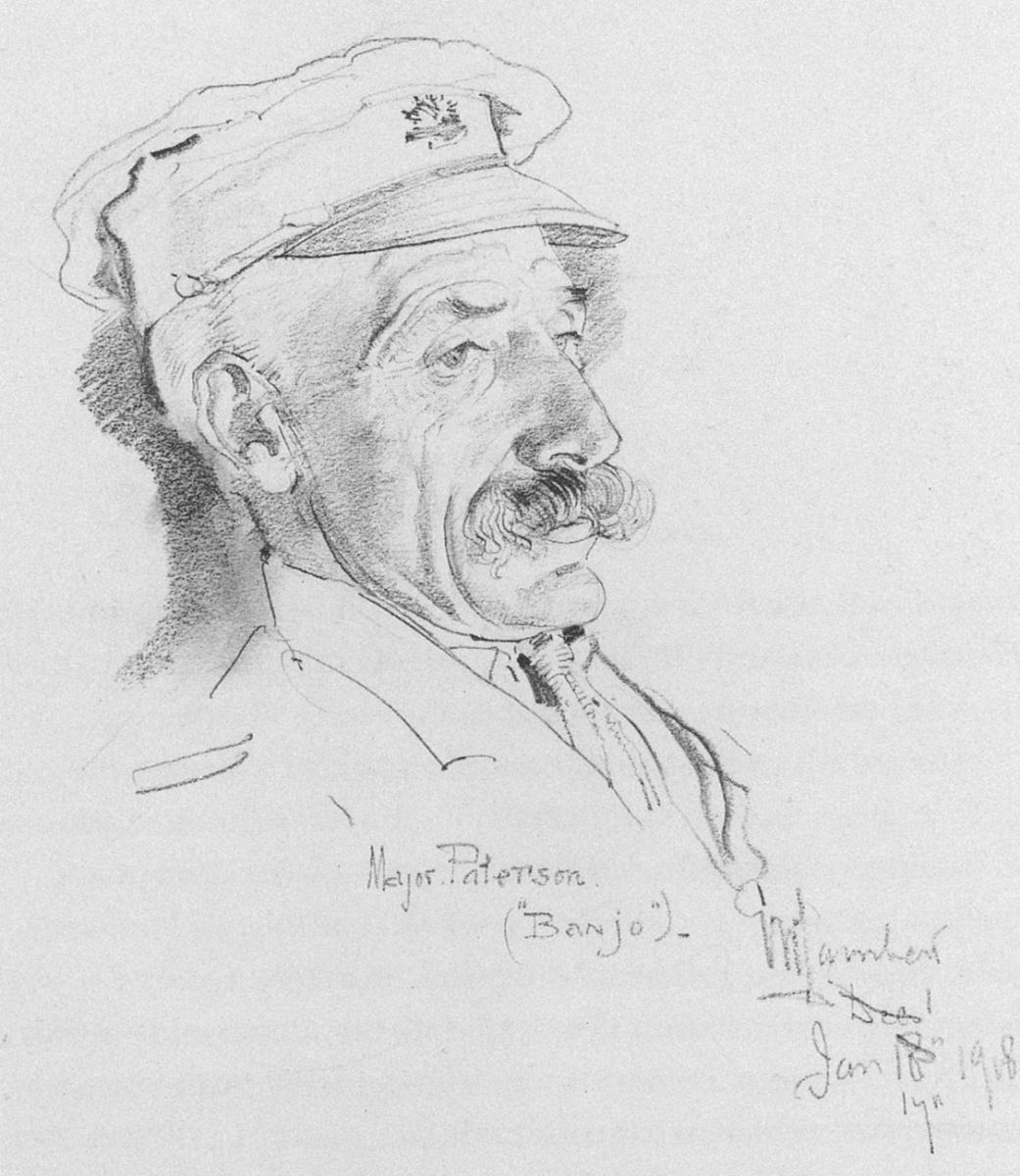 George Lambert. Major Andrew Barton
