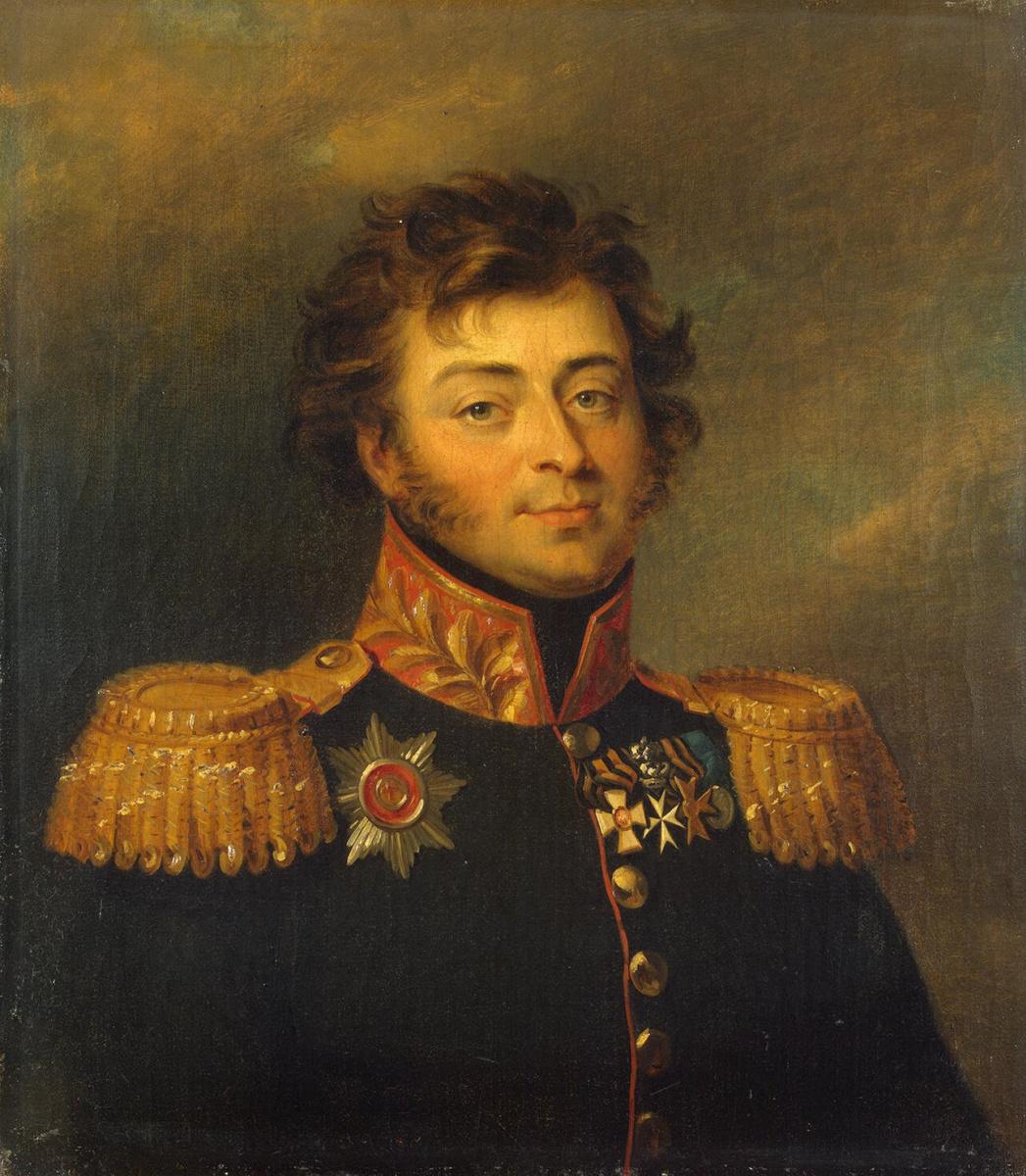Джордж Доу. Портрет Александра Александровича Башилова