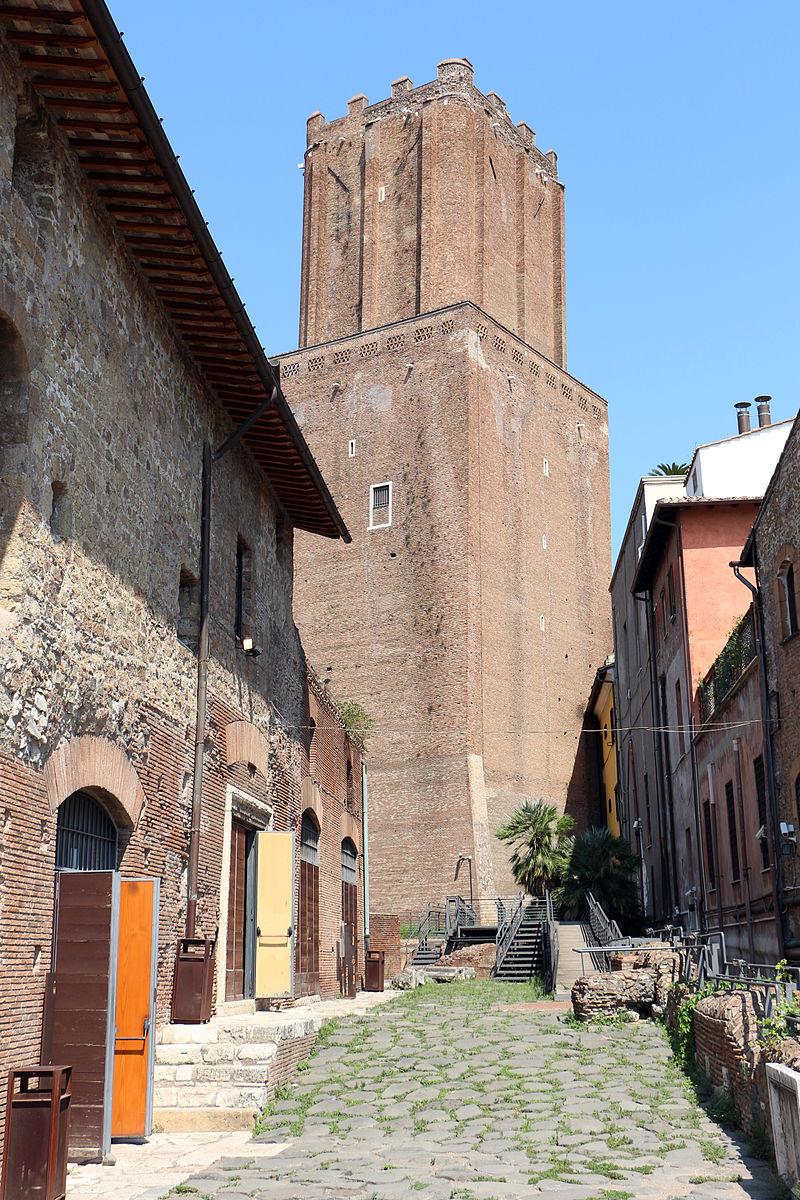 Unknown artist. Torre delle Milicie (Torre delle Milizie)