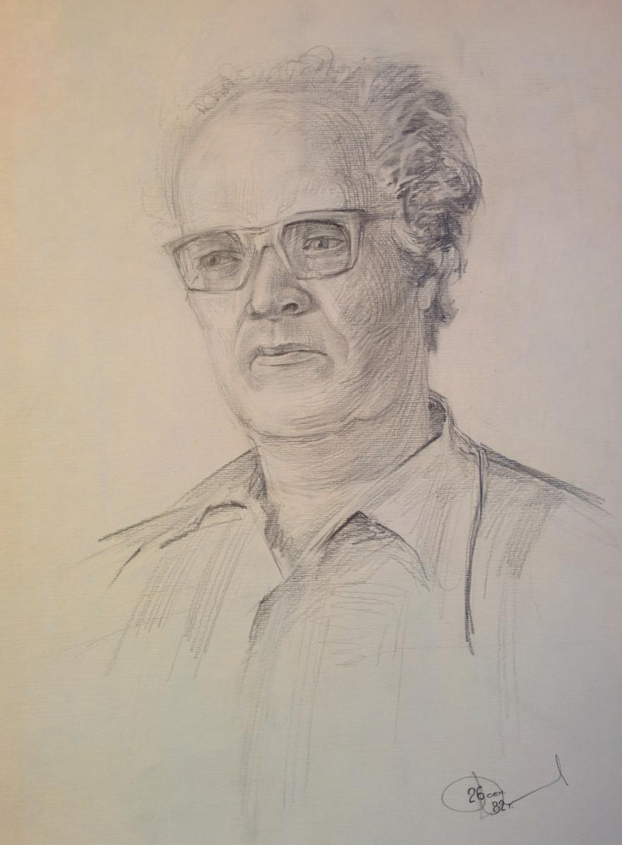 Dmitry Arkadevich Laptev. Portrait of Arkady Laptev