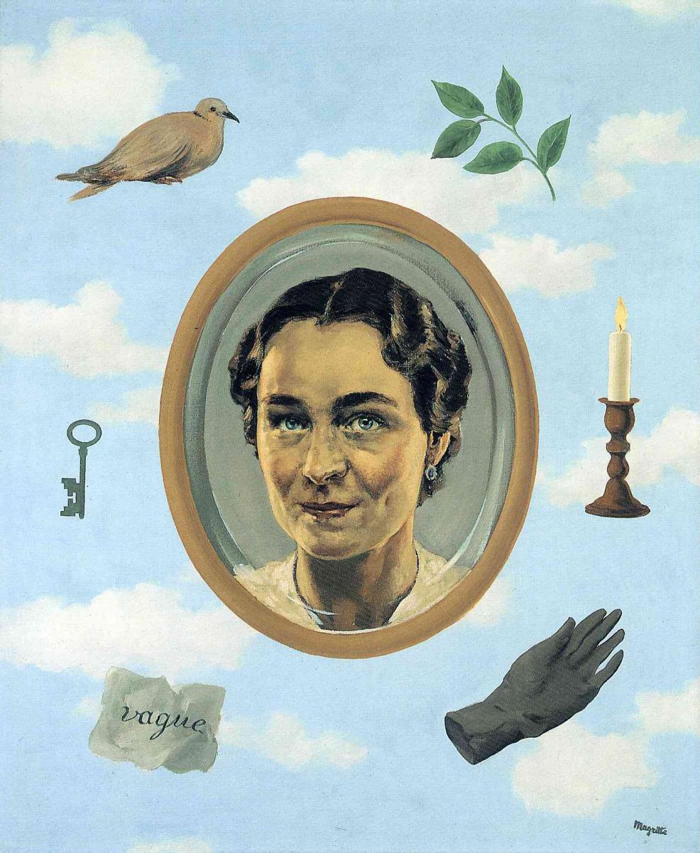 René Magritte. Georgette