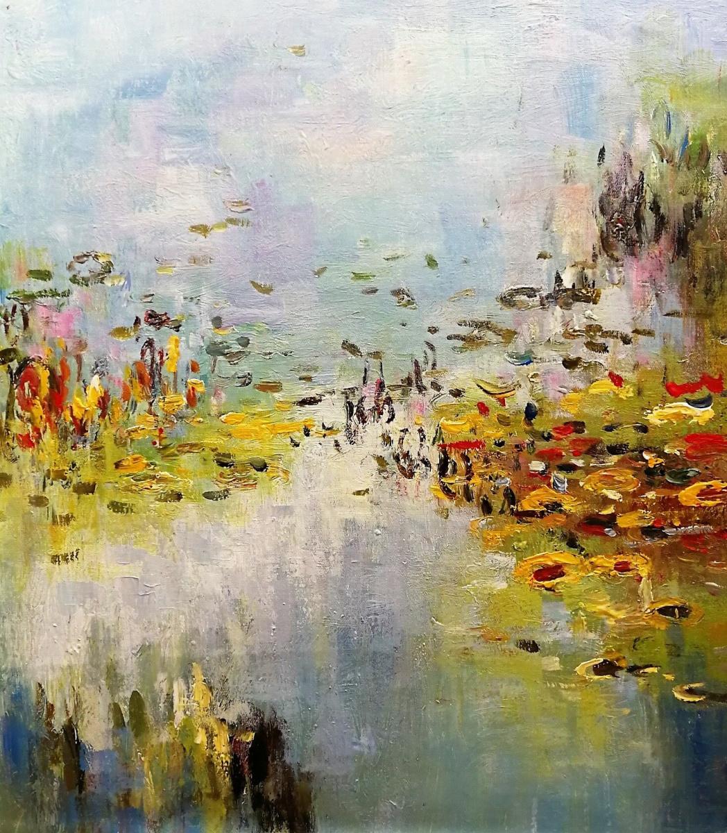 Daniel Wenger. Water Lilies N2