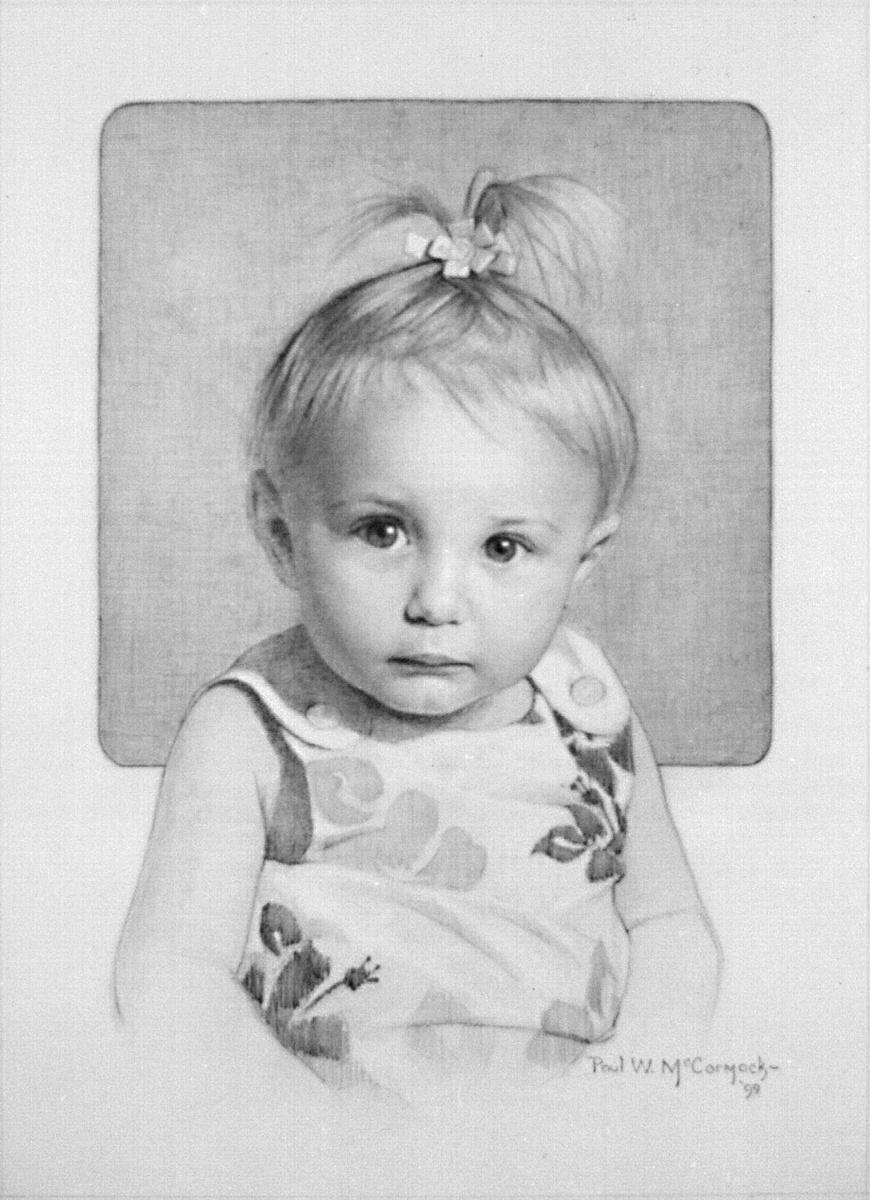 Пол Маккормак. Маленькая девочка