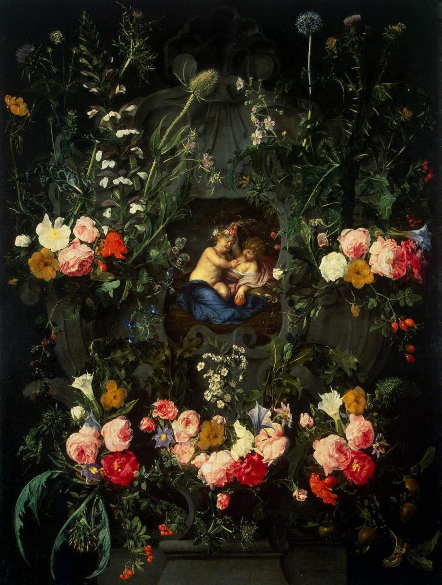 Даниель Сегерс. Гирлянда цветов