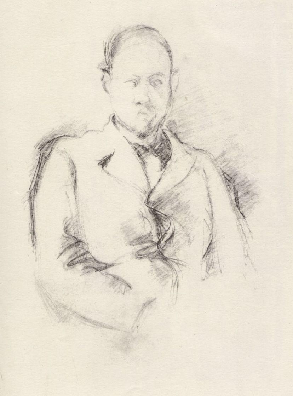 Поль Сезанн. Портрет маршана Амбруаза Воллара