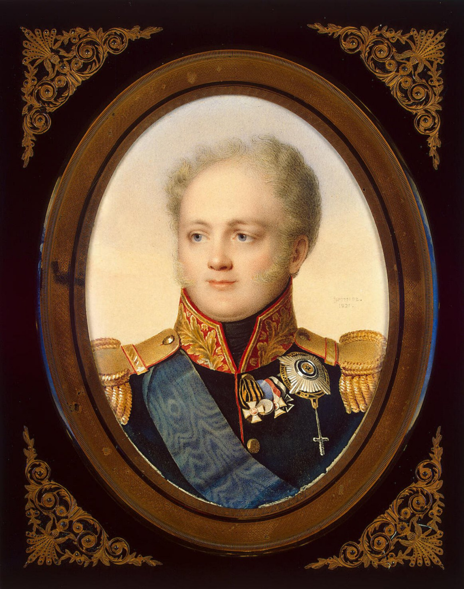Жан Беннер. Портрет императора Александра I