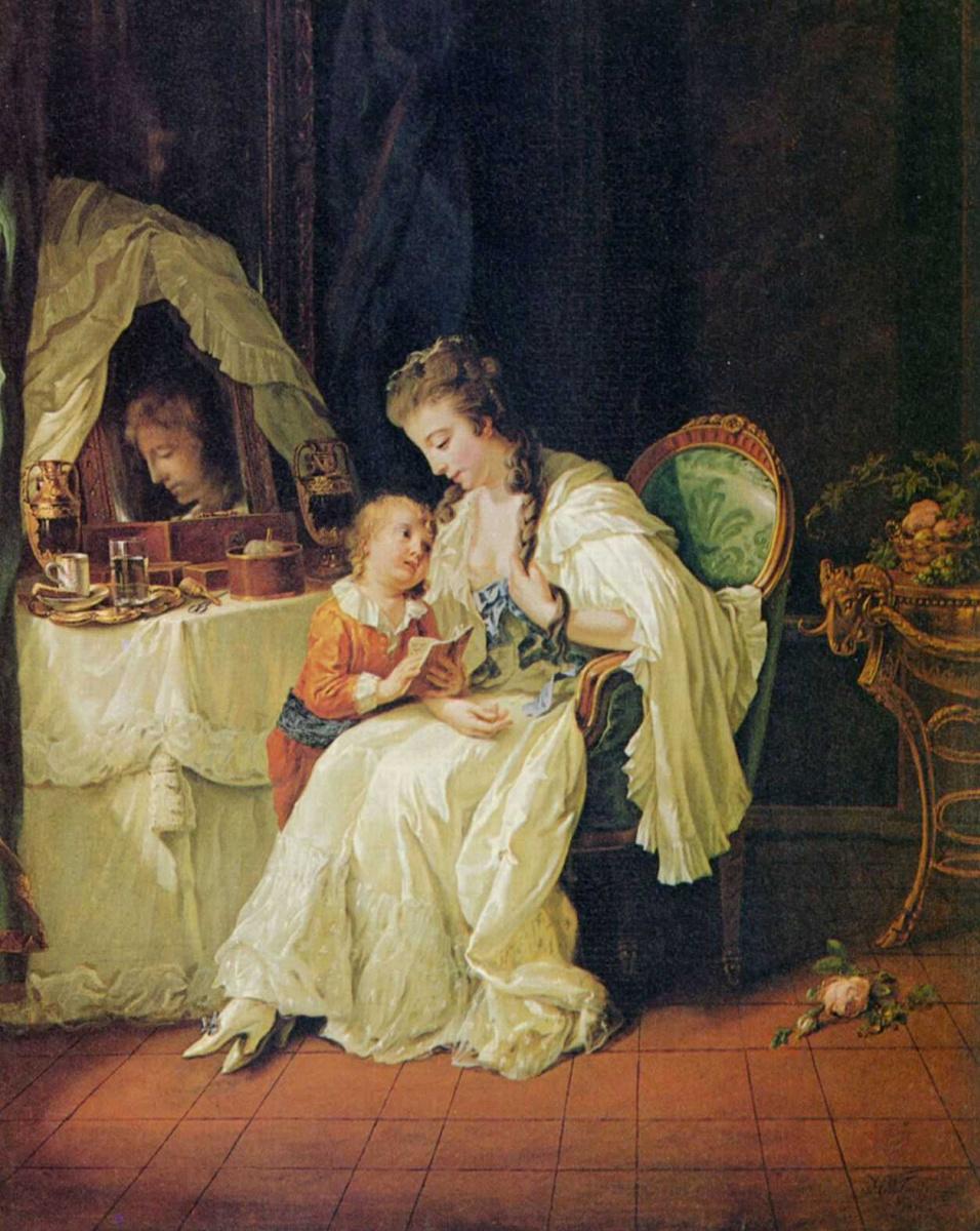 Иоганн Генрих Вильгельм Тишбейн. Семейная сцена