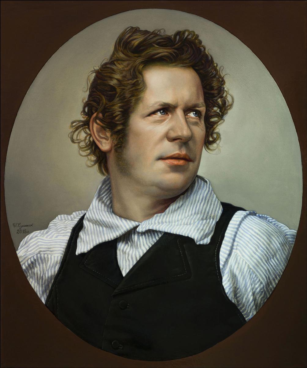 Sushienok64@mail.ru Михайлович Сушенок Игорь. Portrait of Karl Bryullov