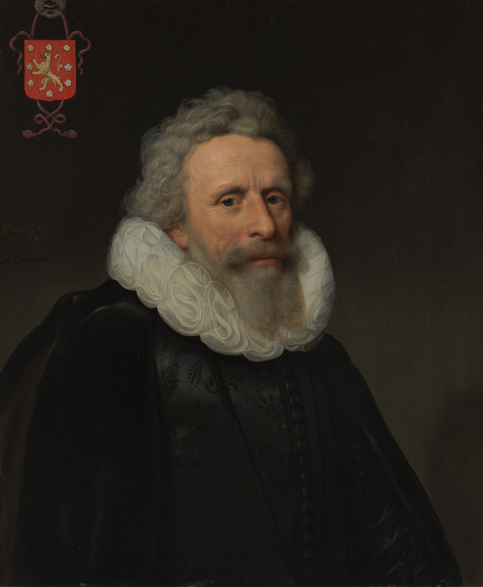 Janson Mihil van Mireveld. Portrait of Jacob van Dalen