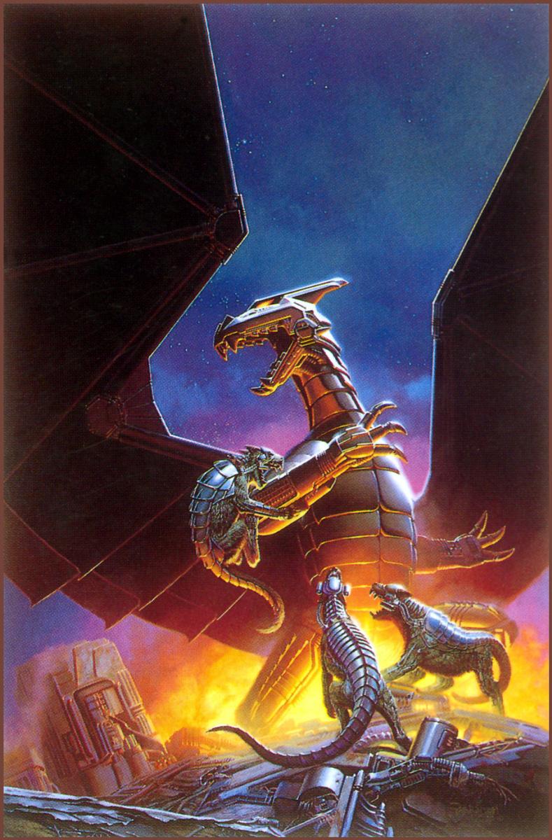 Кит Паркинсон. Железный дракон