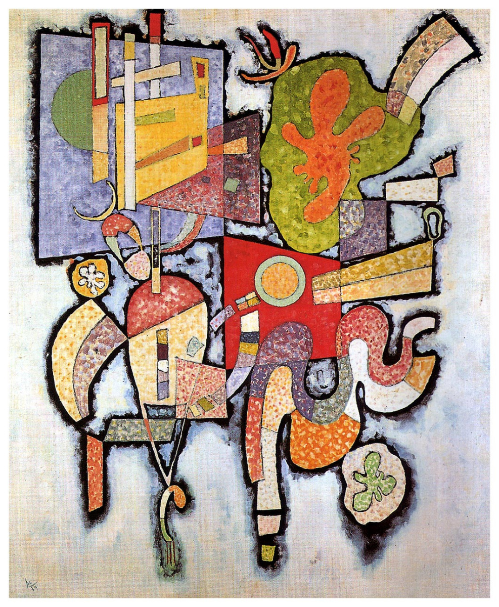 Wassily Kandinsky. Complex-simple