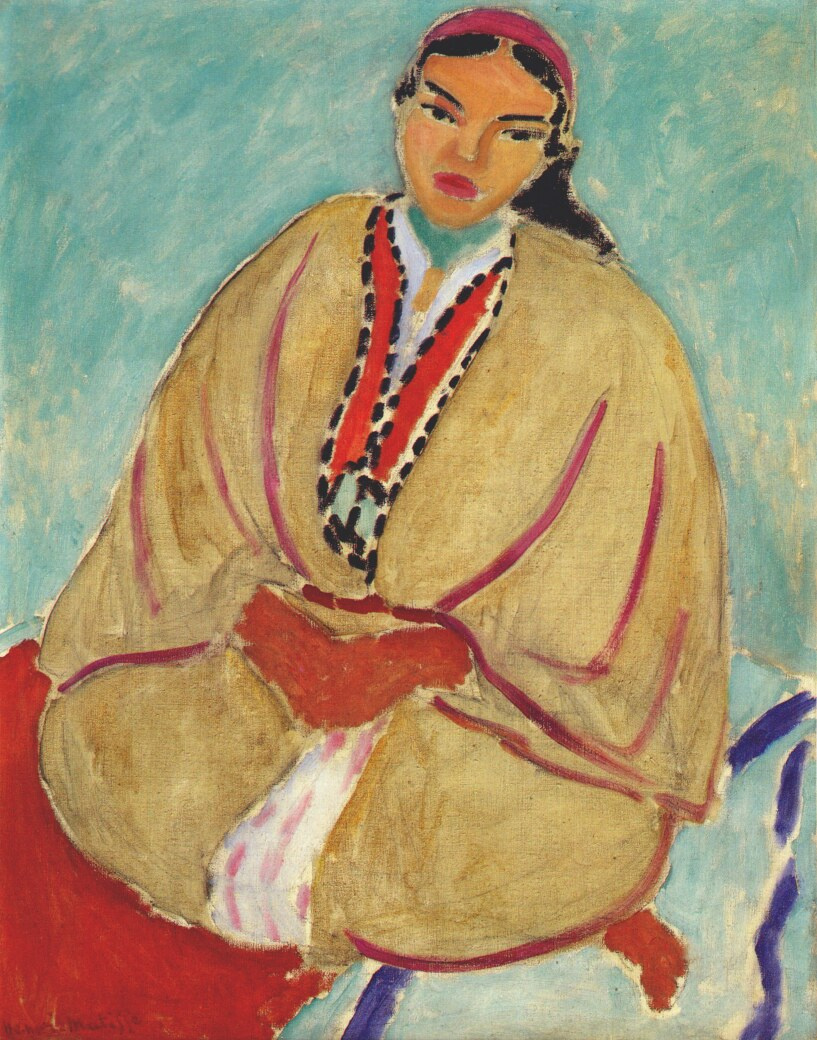 Henri Matisse. Zorah in yellow