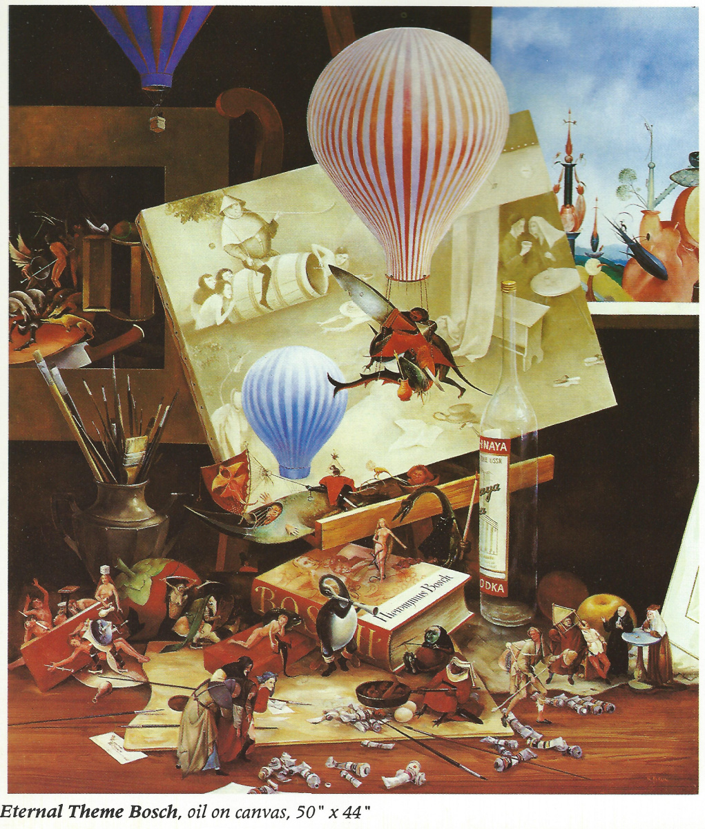 Vladimir (Vladimir) Mikhailovich Ryklin (Ryklin). Bosch. The Eternal Theme