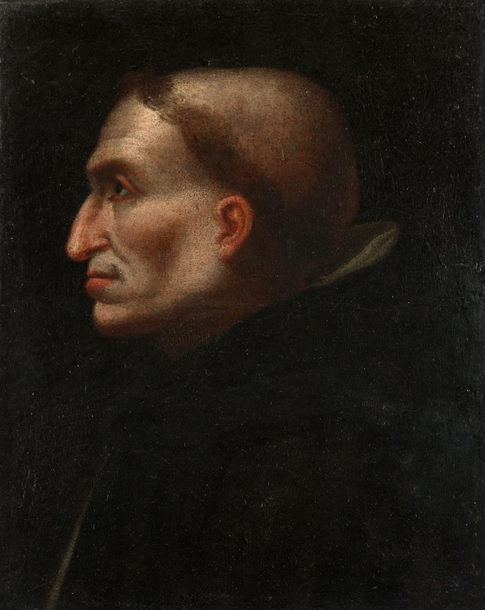 Флорентийский Итальянский. Портрет Савонарола