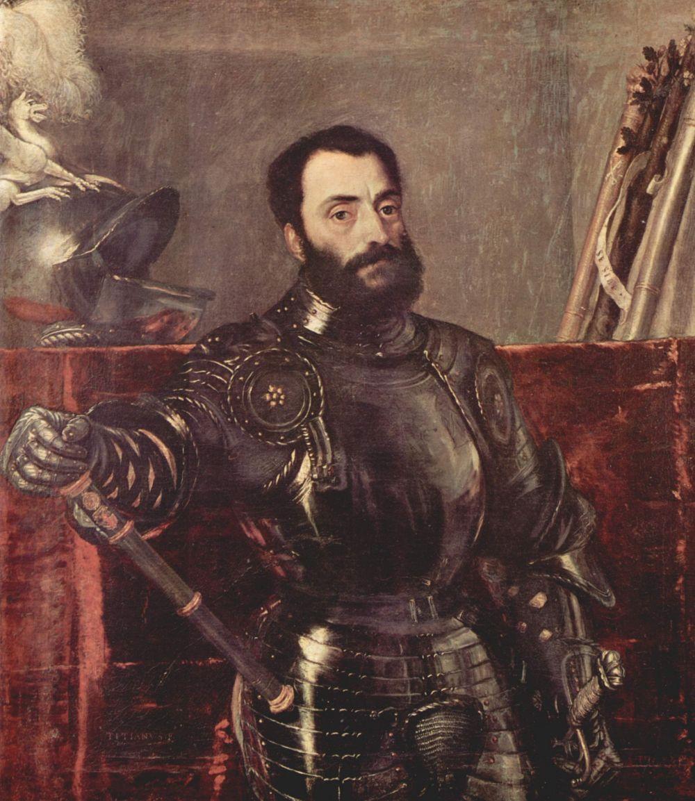 Тициан Вечеллио. Портрет Франческо Мария делла Ровере