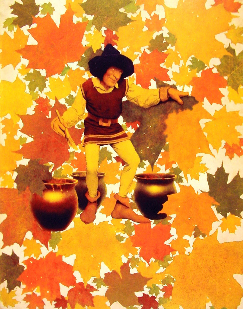 Максфилд Пэрриш. Осенние листья