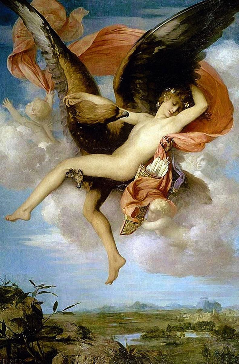 Gabriel Ferrier. The Abduction Of Ganymede