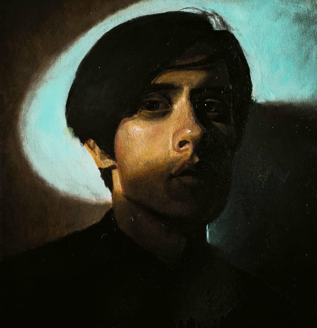 Daniil Andreevich Vlasenko. Self portrait