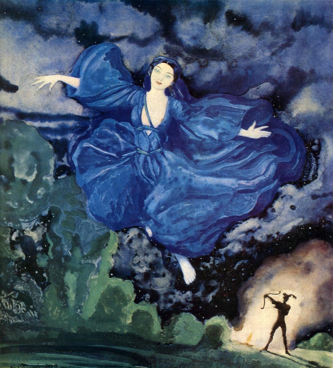 Константин Андреевич Сомов. Синяя птица