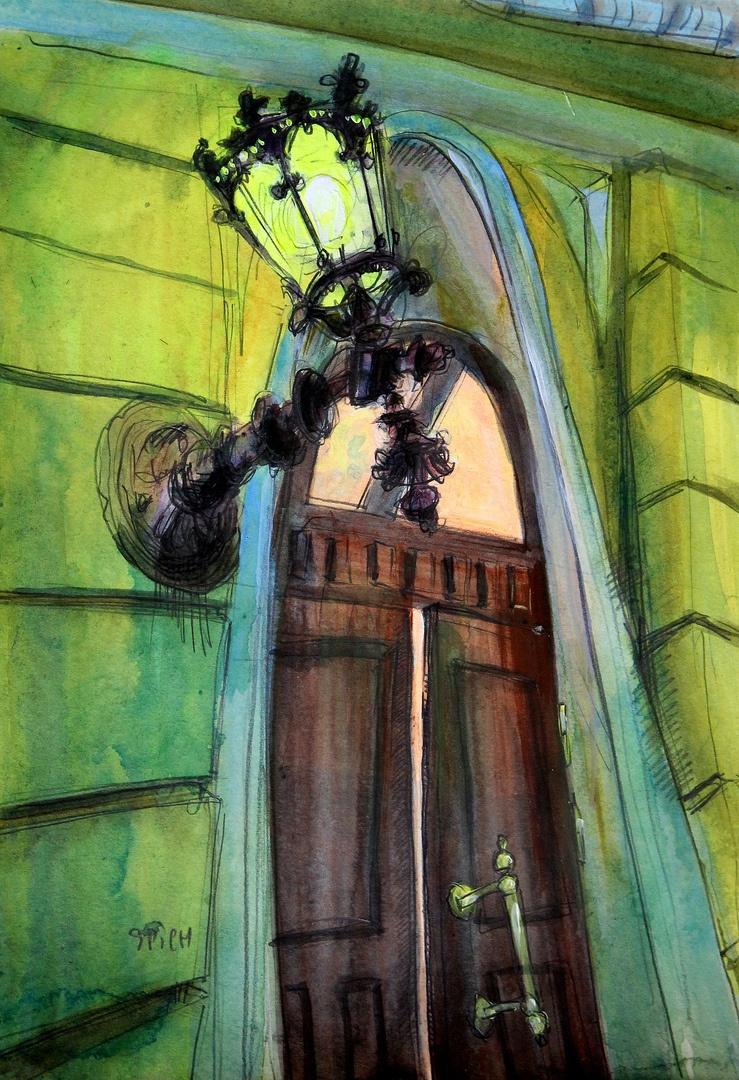 Ilya Pavlovich Spichenkov. Nizhny Novgorod Lantern