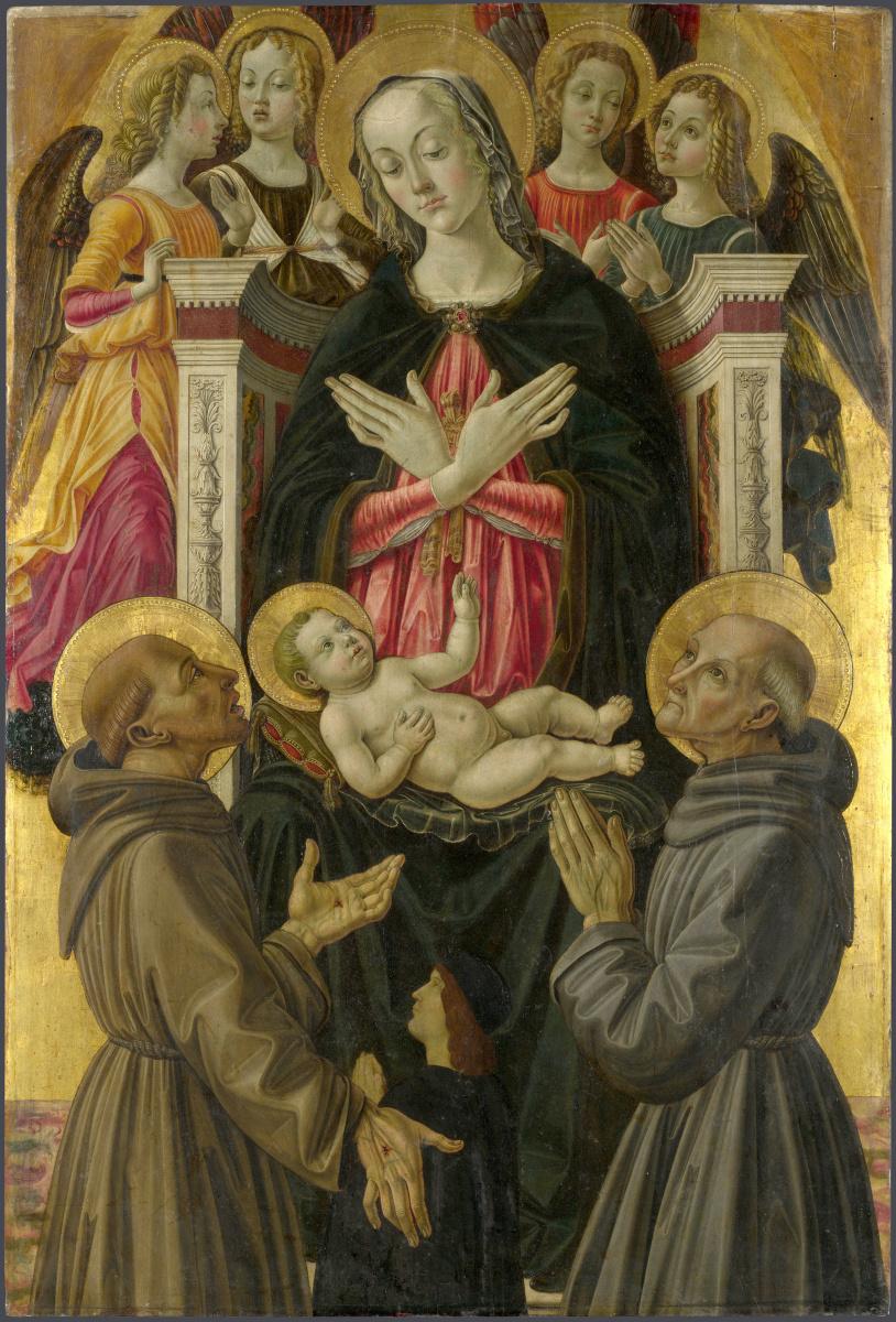 Бартоломео Капорали. Святой Иоанн Креститель