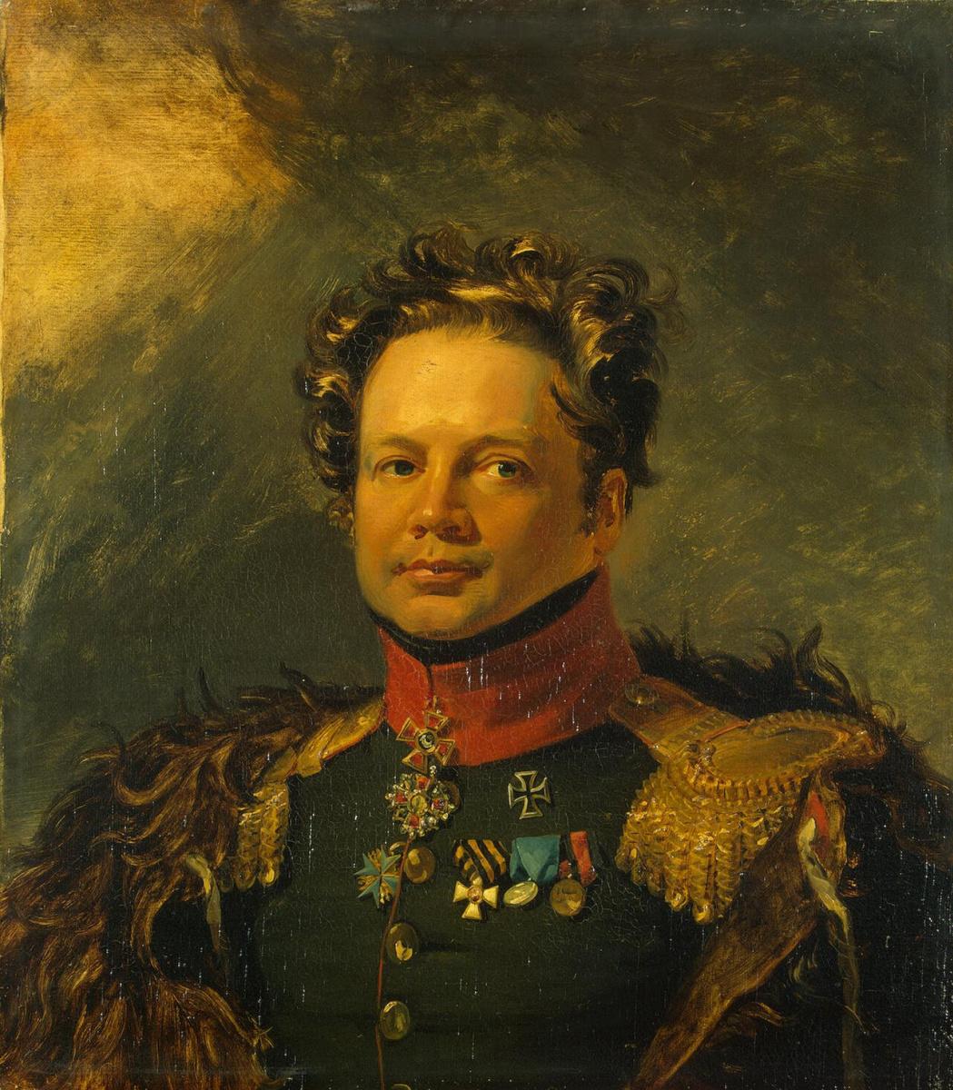 Джордж Доу. Портрет Ивана Захаровича Ершова