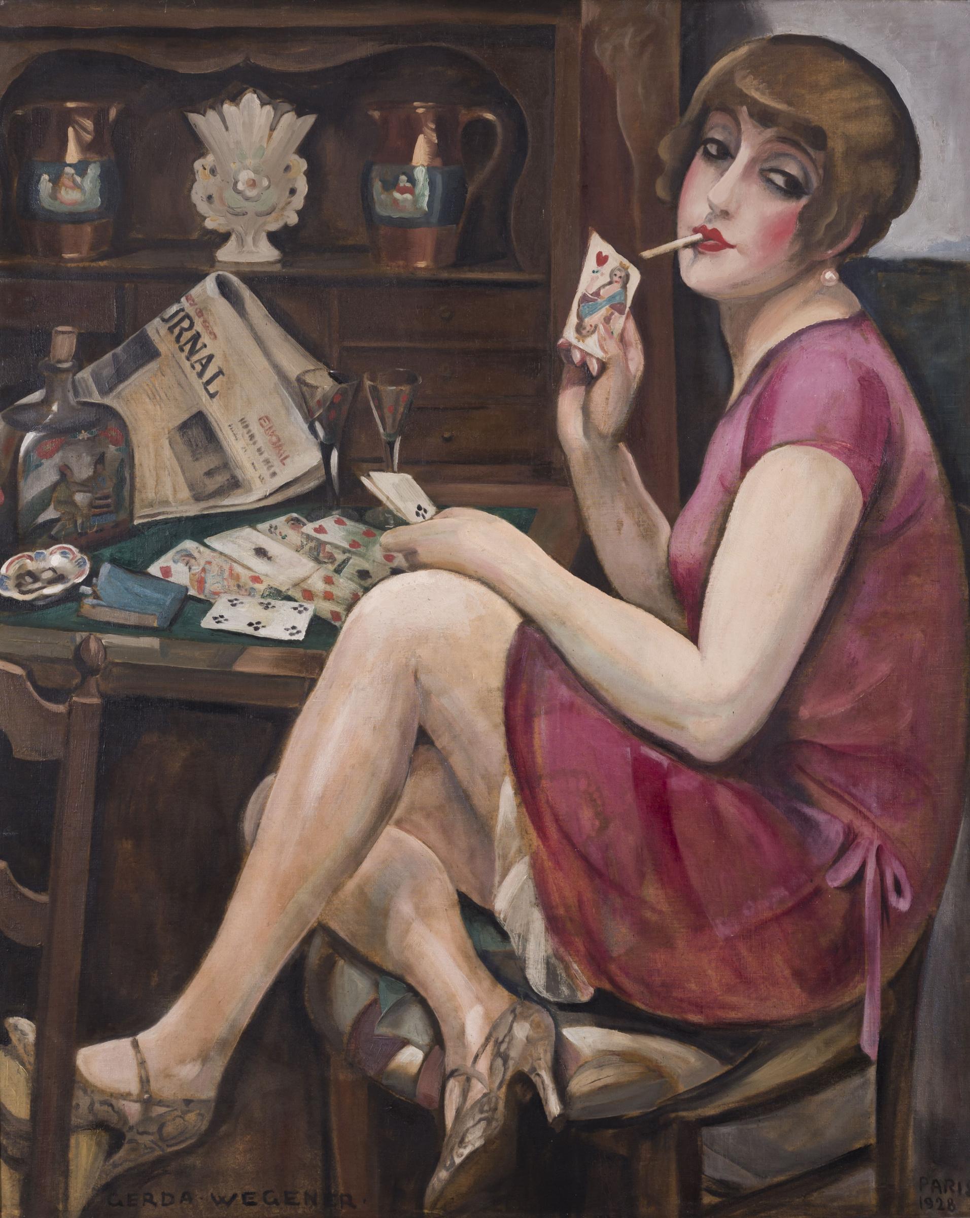 Герда Вегенер. Дама червей (Лили)