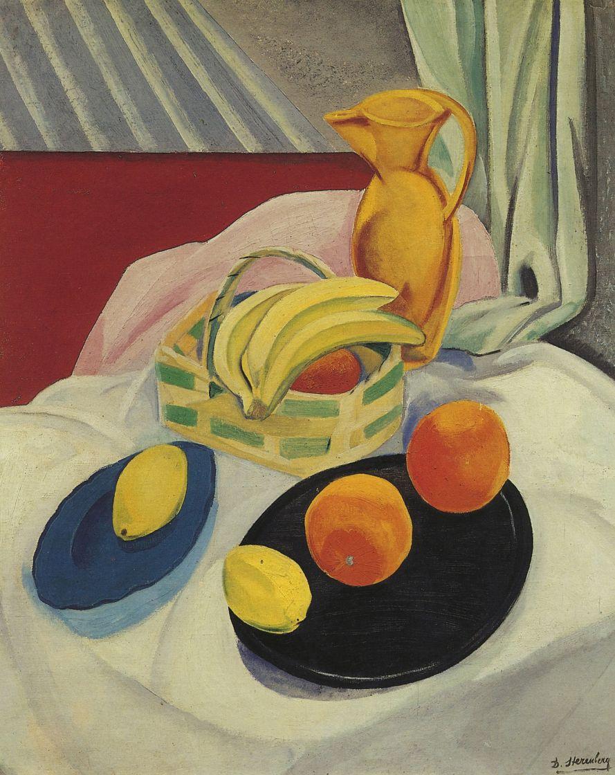 Давид Петрович Штеренберг. Бананы и апельсины