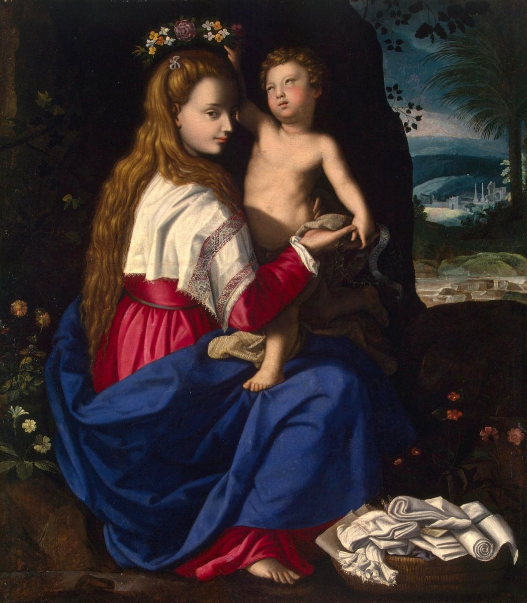 Alessandro Allori. Allegory of the Christian Church. 1600s