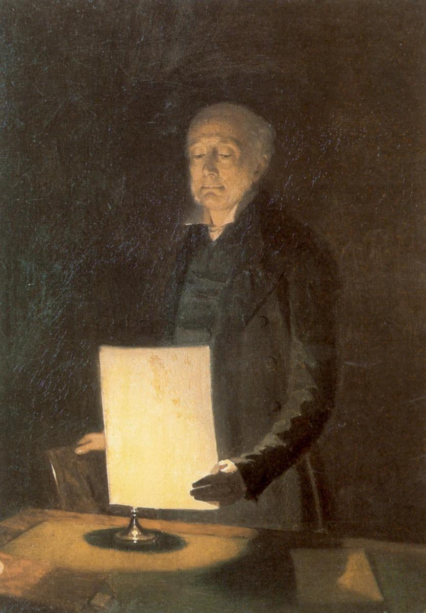 Павел Андреевич Федотов. Портрет Егора Гавриловича Флуга