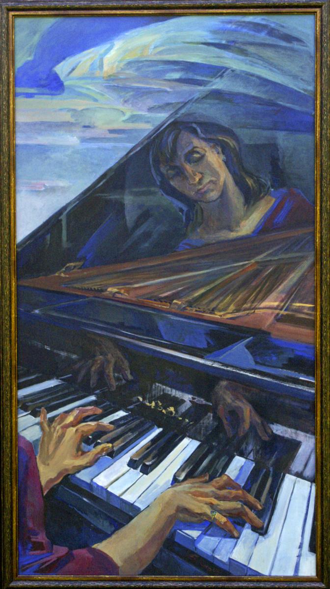 Анна Юрьевна Боско. Пианистка