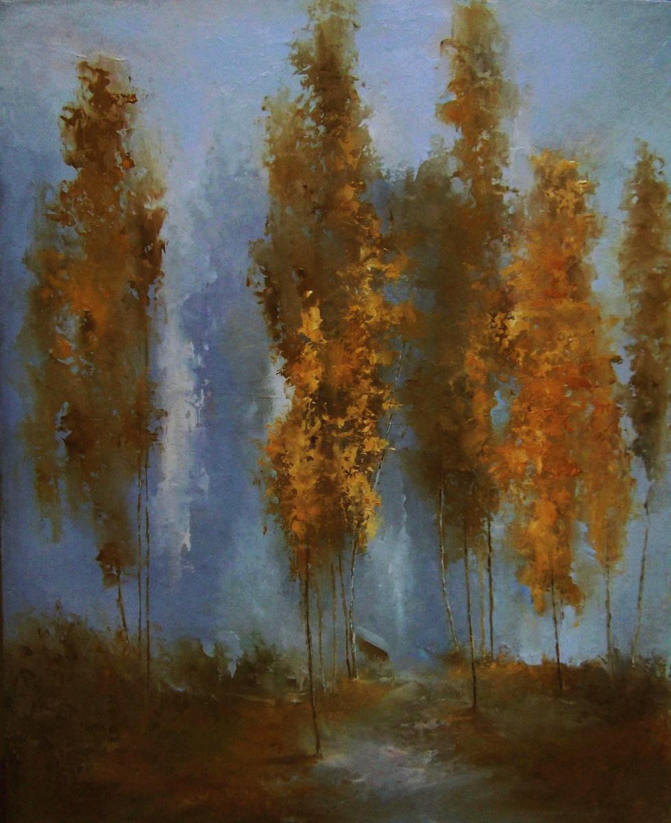 Elena Yudina. On the eve of falling leaves