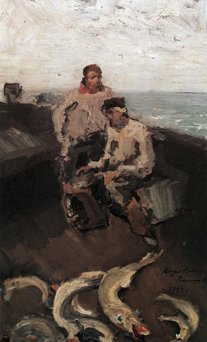 Константин Алексеевич Коровин. Поморы