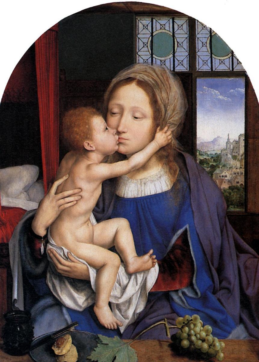 Квентин Массейс. Мария с младенцем