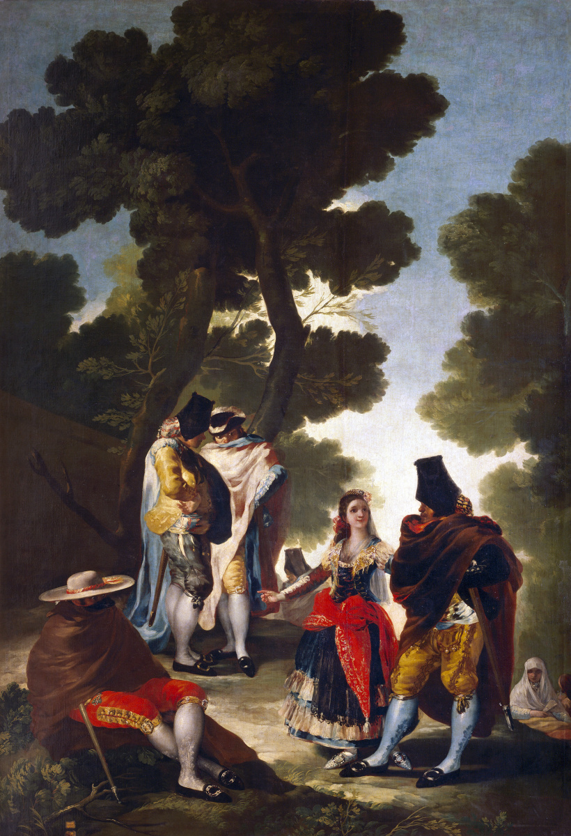 Francisco Goya. Masquerade in Andalusia