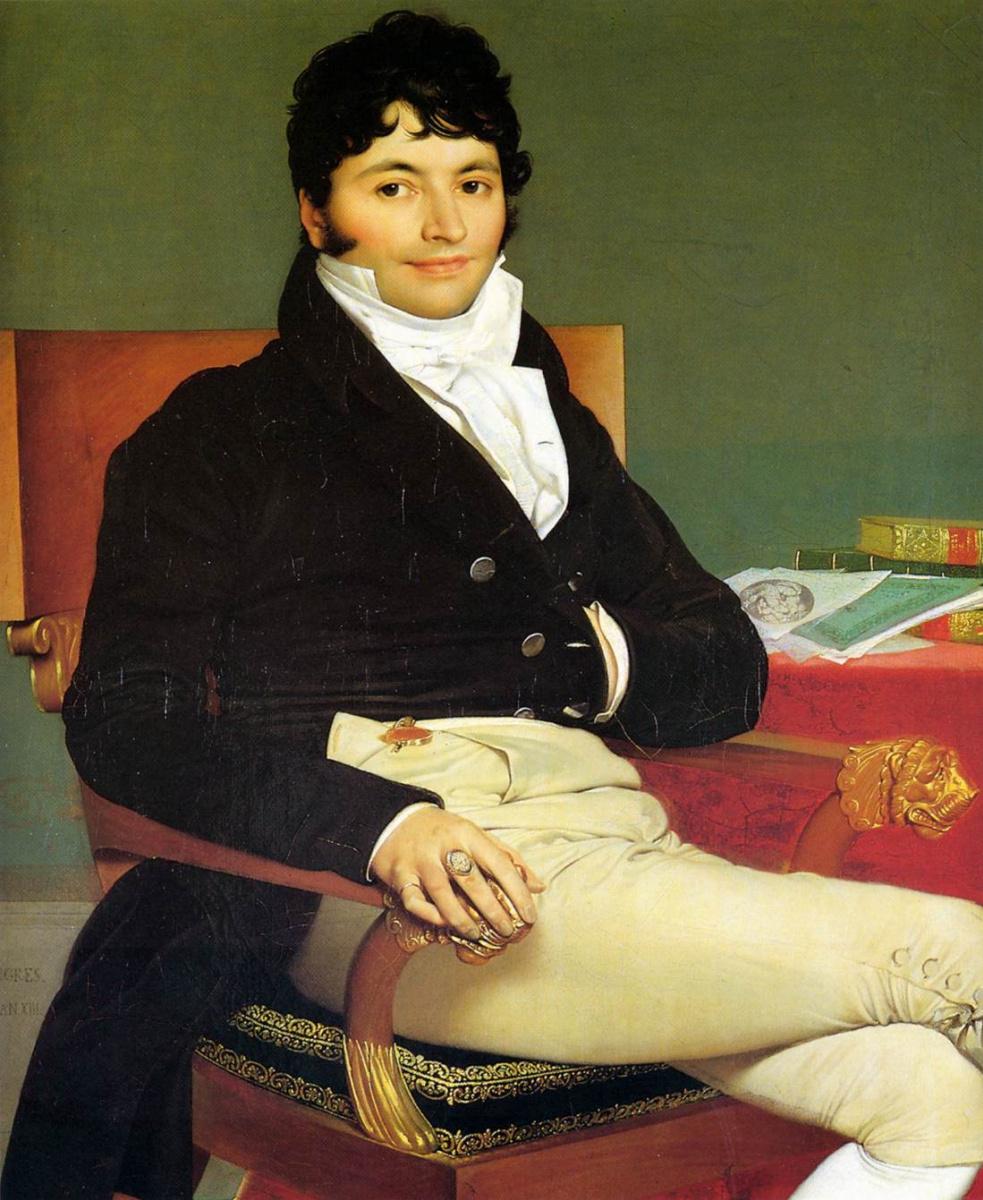 Jean Auguste Dominique Ingres. Philibert Riviere