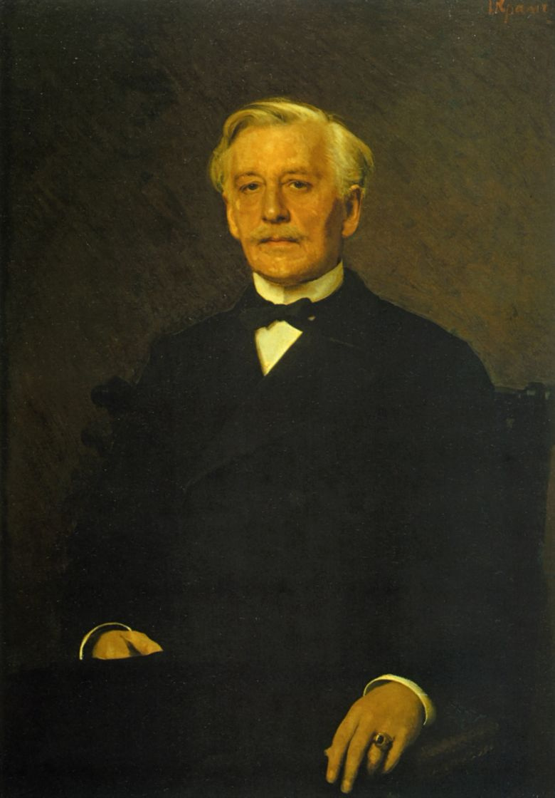 Иван Николаевич Крамской. Портрет князя П. И. Ливена