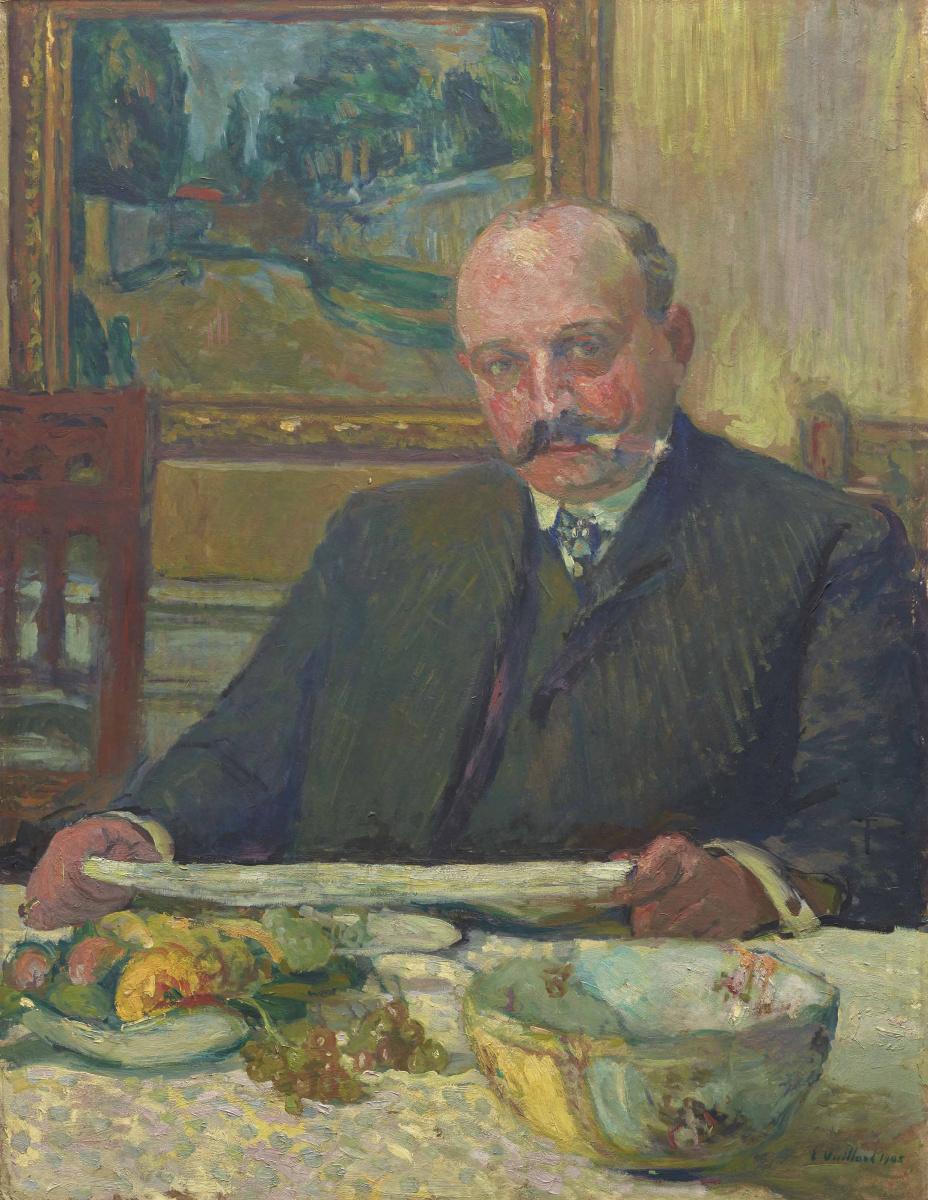 Жан Эдуар Вюйар. Портрет Йоса Хесселя
